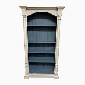 Antikes Bücherregal aus Kiefernholz