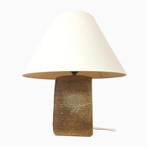 Lámpara de mesa vintage de arenisca