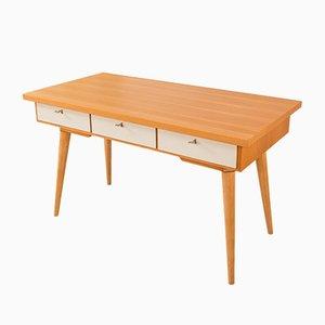 Deutscher Schreibtisch aus Eschenholzfurnier, 1950er
