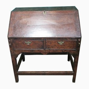 Antique Oak Georgian Secretaire