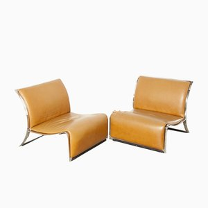 Lounge Chairs by Vittorio Introini for Saporiti Italia, 1960s, Set of 2