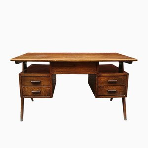 Asymmetrischer italienischer Schreibtisch, 1960er