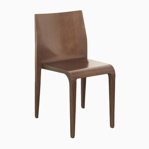 Italian Walnut Laleggera Dining Chair by Riccardo Blumer for Alias, 1990s