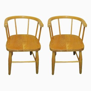 Children's Chairs, 1960s, Set of 2