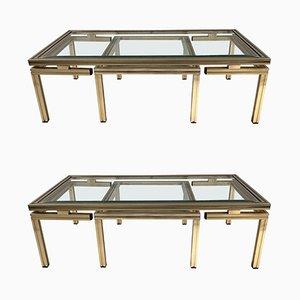 Tables Basses Gigognes par Pierre Vandel, 1970s, Set de 2