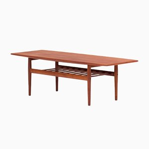 Danish Coffee Table by Grete Jalk for Glostrup, 1950s