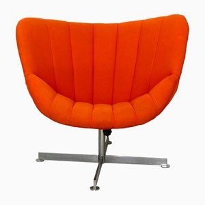 Dutch Swivel Chair by Rudolf Wolf for Rohé Noordwolde, 1960s