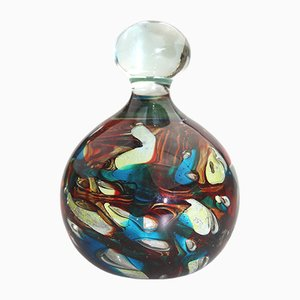 Glass Paperweight by Michael Harris for Mdina, 1980s