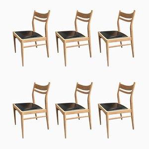Chaises de Salle à Manger Suite 7, 1960s, Set de 6