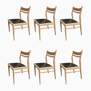 Suite 7 Dining Chairs, 1960s, Set of 6