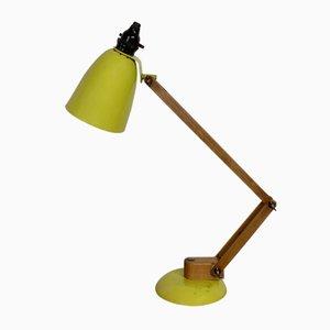 Gelbe Maclamp Schreibtischlampe von Terence Conran für Habitat, 1960er