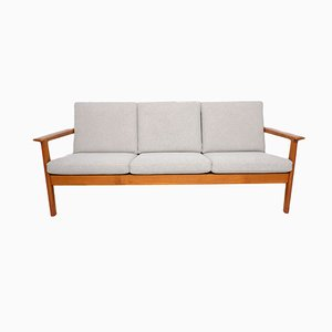 Model GE265 Teak Sofa by Hans J. Wegner for Getama, 1970s