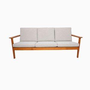Modell GE265 Sofa mit Gestell aus Teak von Hans J. Wegner für Getama, 1970er