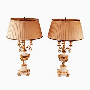 Lampes de Bureau Antiques, Set de 2