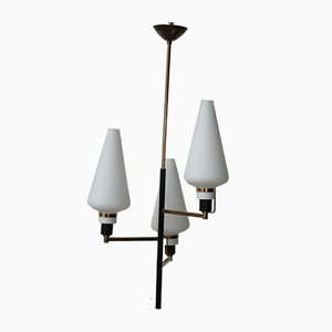 Mid-Century Deckenlampe von Stilnovo, 1950er