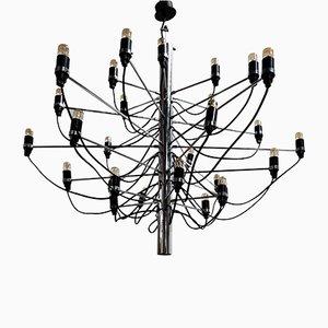 Lámpara de araña modelo 2097/30 de Gino Sarfatti para Flos, años 80
