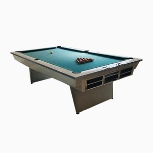 White Pool Table from Brunswick, 1960s