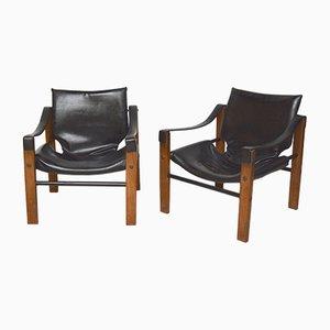 Schottische Safari Sessel von Maurice Burke für Arkana, 1970er, 2er Set