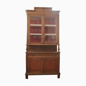 Antique Italian Fir Wood Buffet
