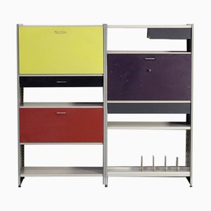 Model 5600 Wall Unit by A.R. Cordemeyer, L. Holleman for Gispen, 1960s