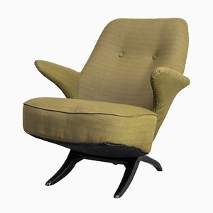 Mid-Century Pinguin Lounge Chair by Theo Ruth for Gispen