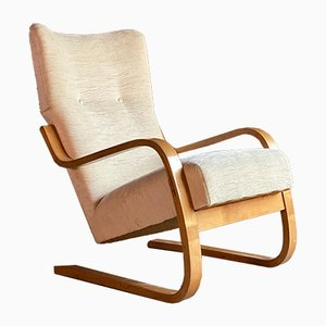Cantilever Lounge Chair by Alvar Aalto for Finmar, 1940s