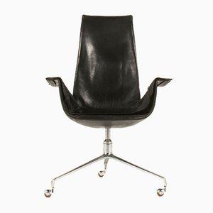 Chaise de Bureau par Preben Fabricius & Jørgen Kastholm pour Kill International, 1960s