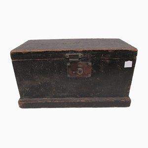 Englische Kiste aus Kiefernholz, 1920er