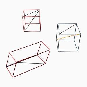 Geometrische Formen, 1940er, 3er Set