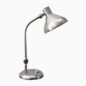 Lampada da tavolo GS1 in alluminio e acciaio cromato di Jumo, anni '50
