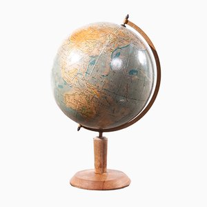 Rotating Teaching Globe, 1950s