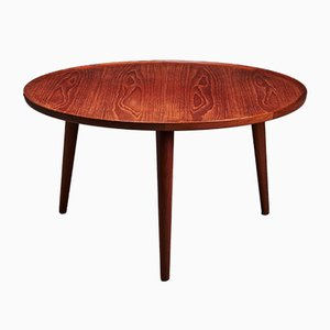 Round Coffee Table in Teak by Anton Kildeberg, 1960s