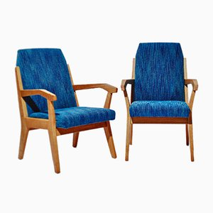 Armchairs by Rex Raab for Albert Menger, 1950s, Set of 2