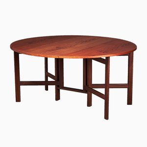 Mid-Century Danish Dining Table in Teak, 1960s