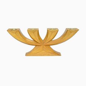 4-armiger Mid-Century Kerzenhalter von Hedwig Bollhagen