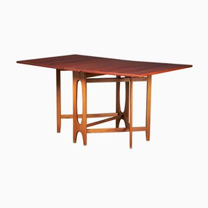 Foldable Dining Table by Bendt Winge for Kleppes Møbelfabrikk, 1950s