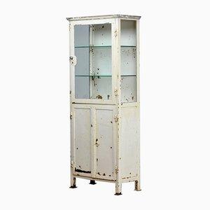 Mueble médico de vidrio e hierro, años 20