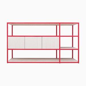 Rotes Celeste Mini Sideboard von Johanenlies