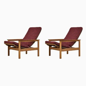 Belgian Lounge Chairs by Georges-Charles Vanrijk for Beaufort, 1960s, Set of 2