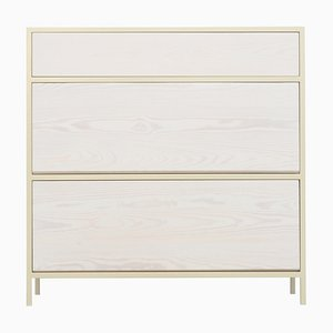 Light Ivory Schoen Shoe Cabinet by Johanenlies