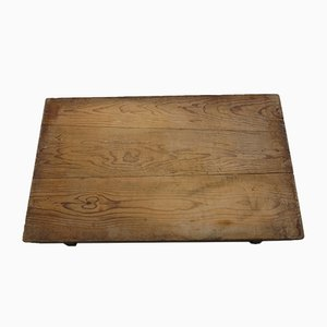 Vintage Pine Noodle Cutting Board Table, 1960s
