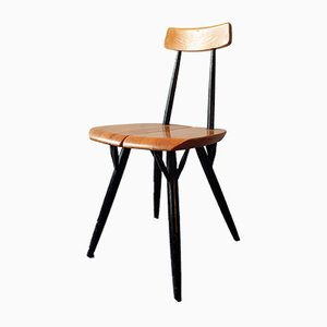 Mid-Century Pirkka Dining Chair by Ilmari Tapiovaara for Laukaan Puu