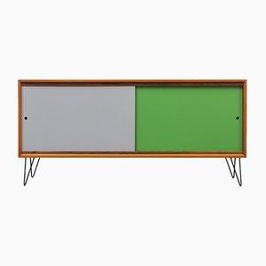 Reversible Door Walnut Sideboard, 1960s