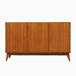 Cubic Walnut Sideboard from Erwin Behr, 1960s