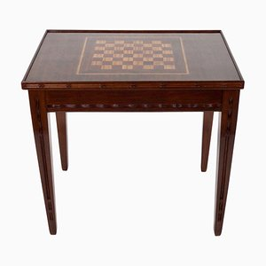 Mahogany Game Table by Louis Majorelle, 1920s