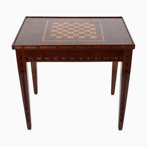 Mesa de juegos de caoba de Louis Majorelle, años 20