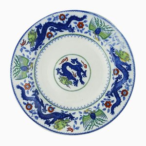 Antique Pottery Plate from Minton