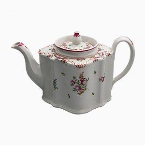 Antike 195 C Teekanne aus Porzellan von New Hall
