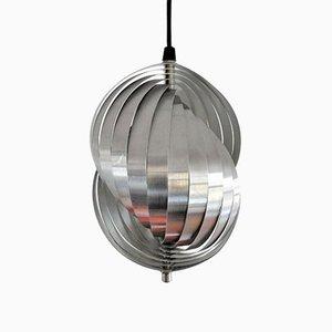 Lampada a spirale Kinetics vintage di Henri Mathieu