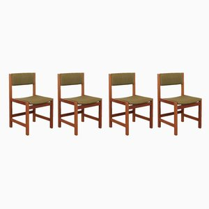 Mid-Century Swedish Teak Dining Chairs, Set of 4